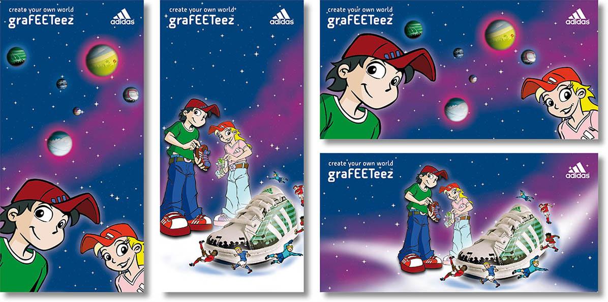 »graFEETeez« POS-Kampagne
