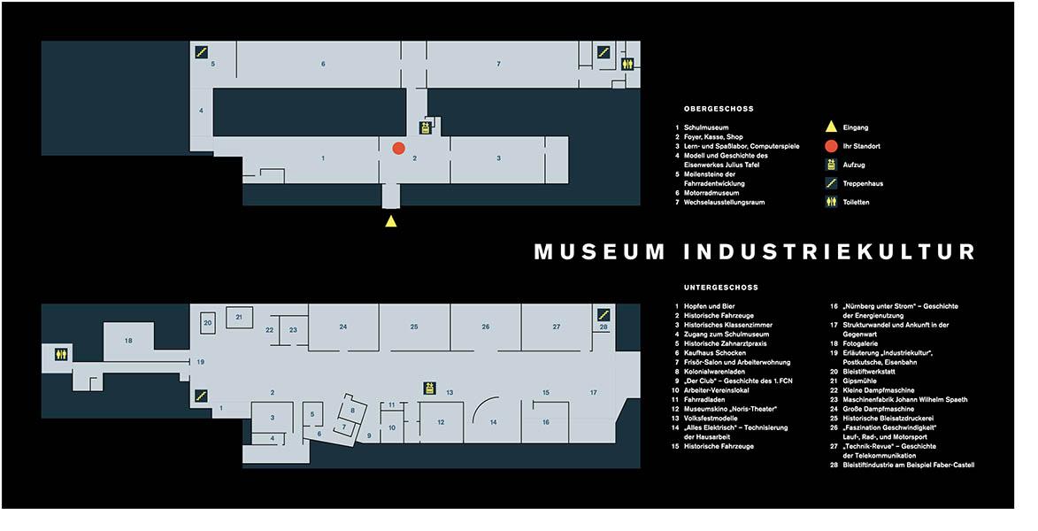 Leitsystem und Gebäudebeschilderung