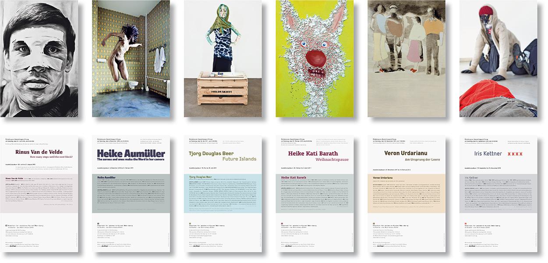 Galeriehaus Einladungskarten