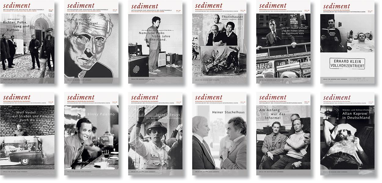 »Sediment – Mitteilungen zur Geschichte des Kunsthandels« Editorial Design