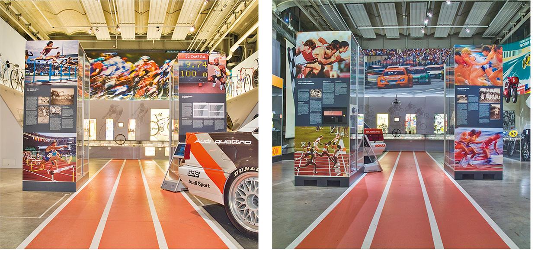 »Faszination Geschwindigkeit« Wandbilder und Infografiken