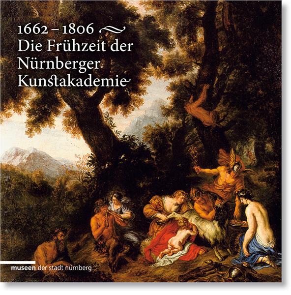 »1662–1806. Die Frühzeit der Nürnberger Kunstakademie« Buchgestaltung