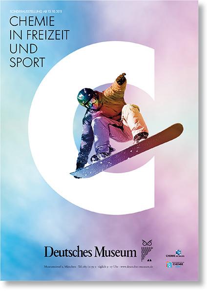 »Chemie in Freizeit und Sport« Werbemedien der Ausstellung
