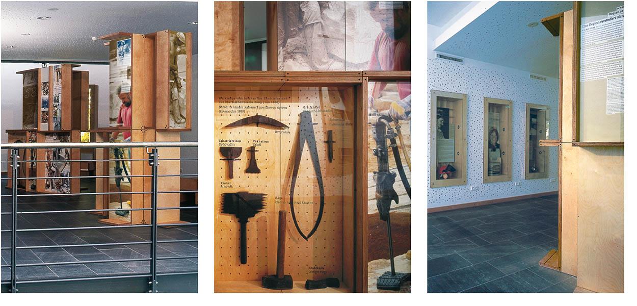 »Aspekte einer Kulturlandschaft« Ausstellungsgrafik