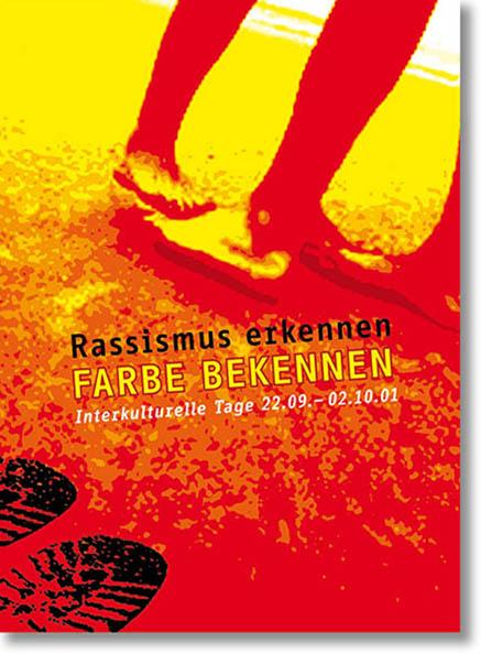»Interkulturelle Tage Dresden« Werbemedien des Festivals