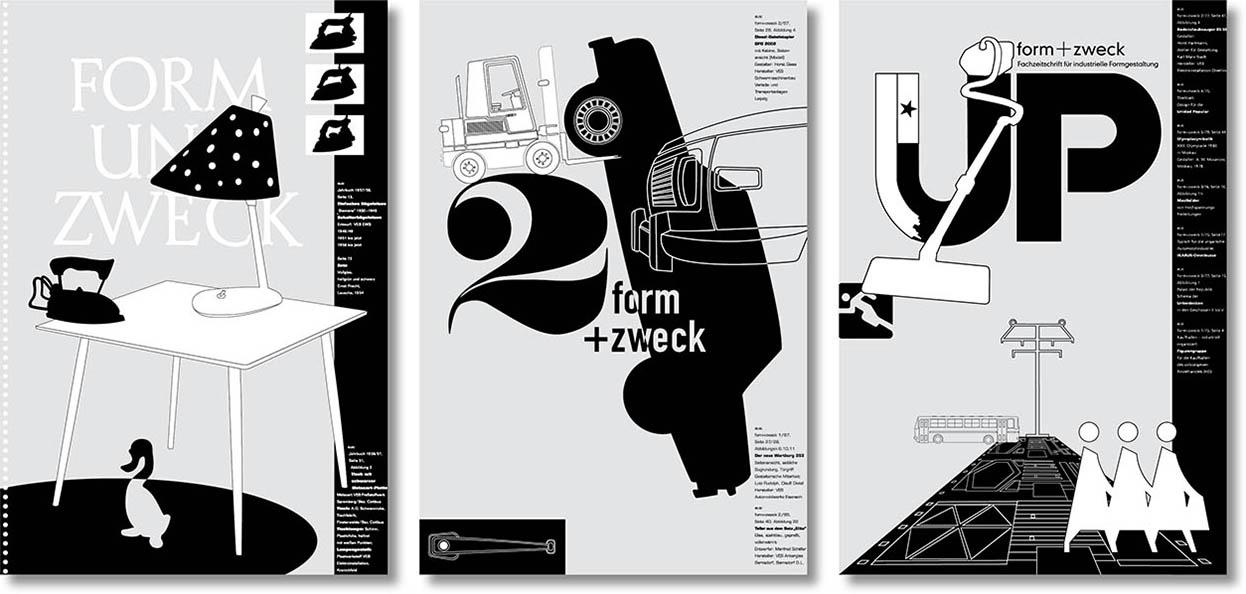 »form+zweck« Plakatserie