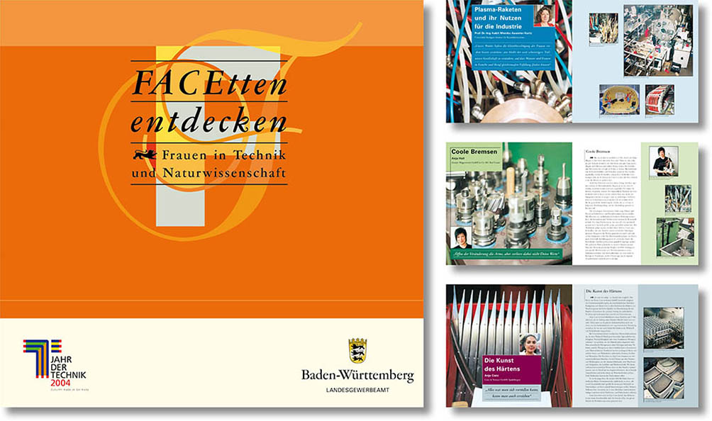 »FACEtten entdecken« Editorial Design
