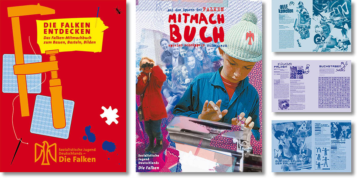 »Das Falken Mitmach-Buch« Kinderbuchgestaltung