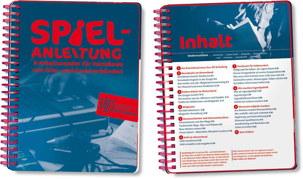 »Spielanleitung« Editorial Design