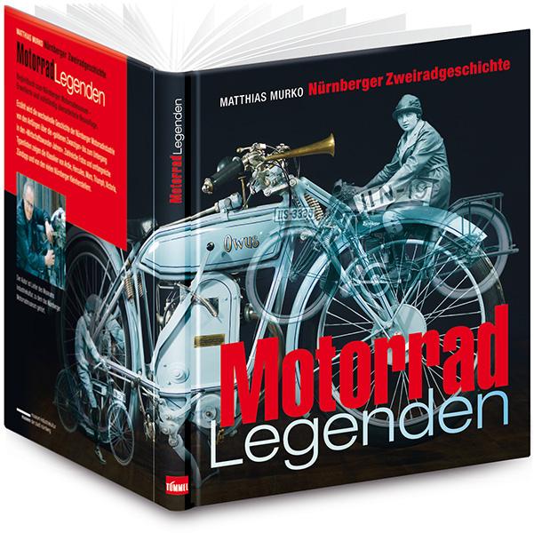 »Matthias Murko – Motorradlegenden« Umschlaggestaltung